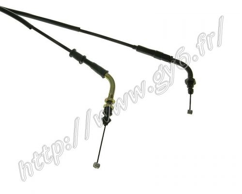 throttle cable in teflon (ptfe) for 125cc and 150cc    length 190cm