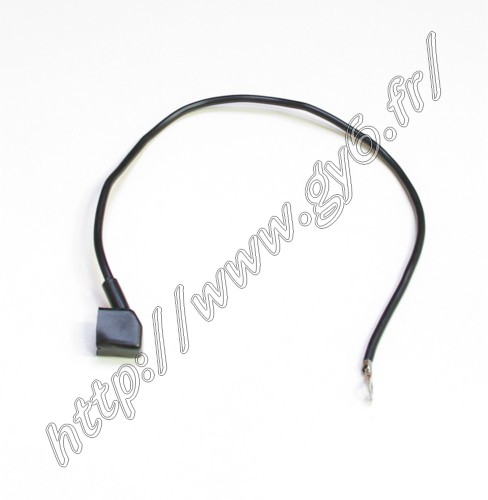 negative (black) cable for battery