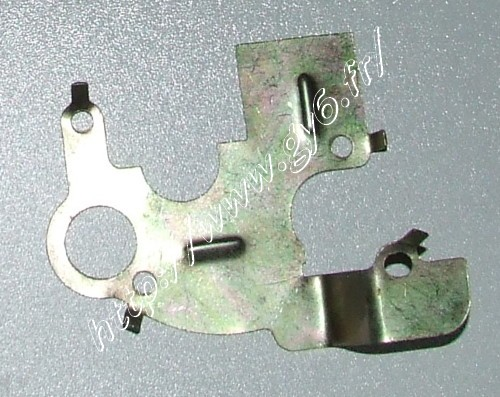 rocker arm breather plate