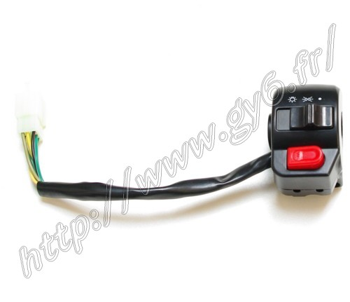 right handlebar controle switches , black , for 50cc