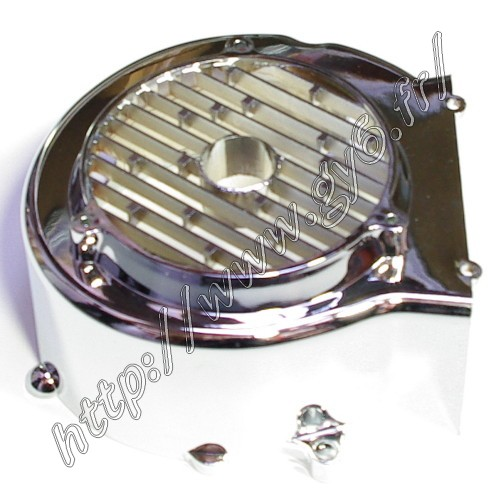 chromed fan cover  125
