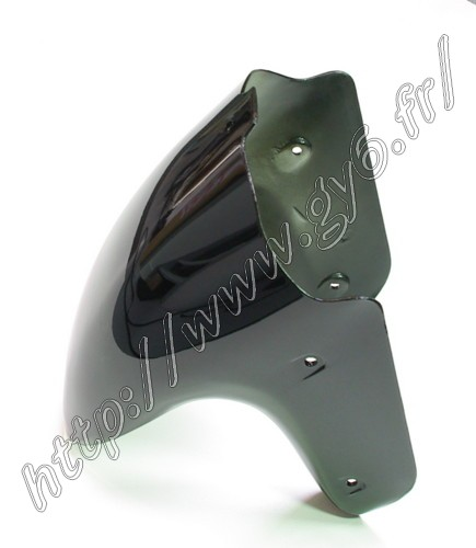 front mudguard in black color