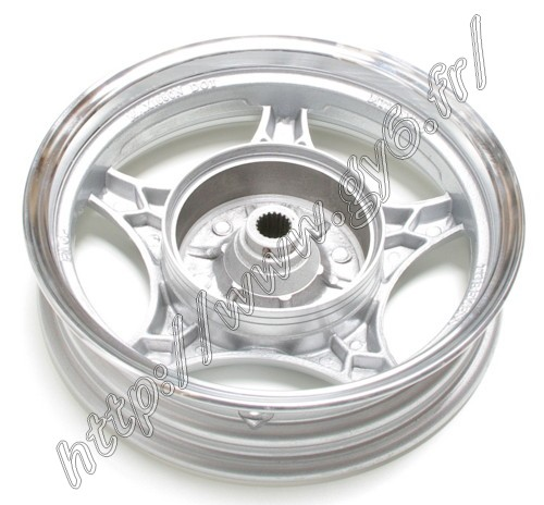 rear rim, 10 inches, for drum braking system