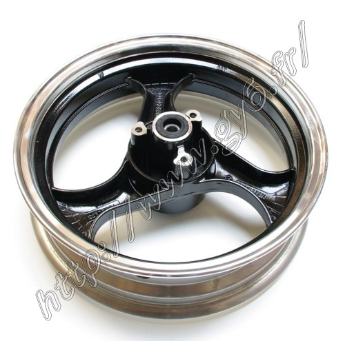 front rim 13 inches in black color