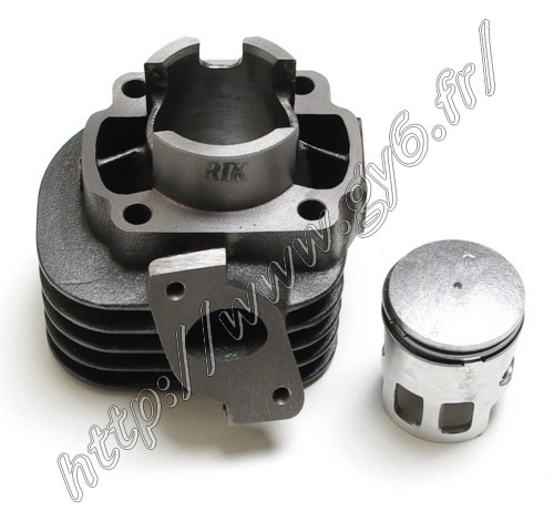 cast iron cylinder 2 stroke 50cc 40mm , piston pin diameter 10mm