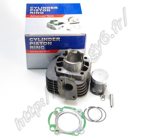 cylinder kit, 2 stroke 50cc piston pin 10mm, high quality Advance Tech line of product