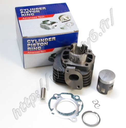 cylinder kit, 2 stroke 50cc piston pin 12mm, high quality Advance Tech line of product