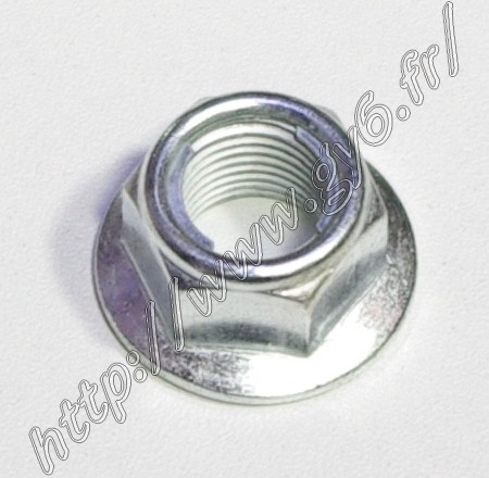 nut for variator, rotor, front wheel, clutch (except clutch and rotor 50cc with are M10 nut)