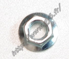 motor nut M6 thickness   5,60mm.    for intake pipe, on 50 cc 90cc 125cc 150cc and up