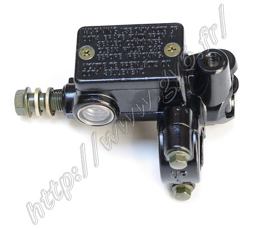 brake master cylinder, front right , with thread for rear view mirror