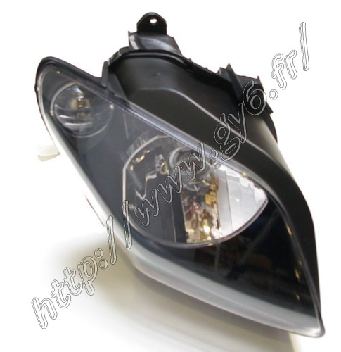 right headlight with harness and bulbs for  Jonway GT 125, Aztral, JS120, YY125T and similar .