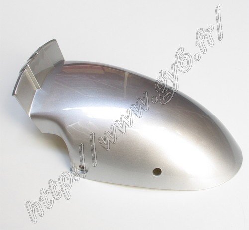 rear part of front mudguard, gray color