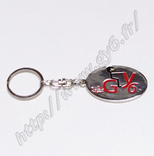 gy6 key ring, last generation, strong and resistant, rotating shackless, strong links