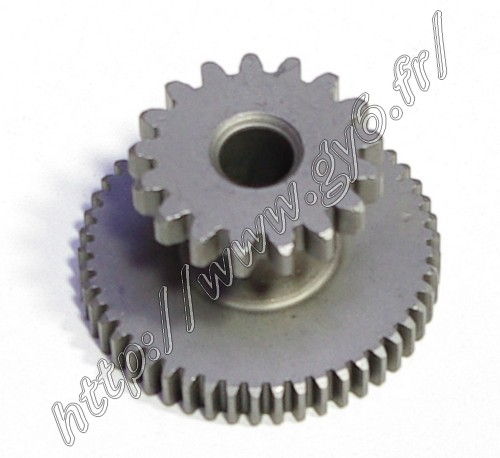 mid electric starter pinion