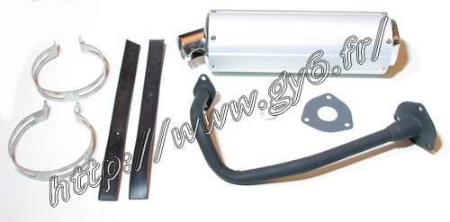 complet exhaust system 50cc