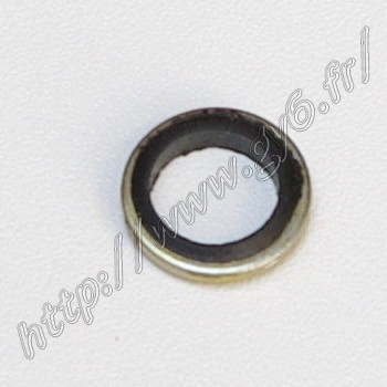 gasket for disk brake tube and hollow disk brake bolt, copper and rubber, to seal the circuit