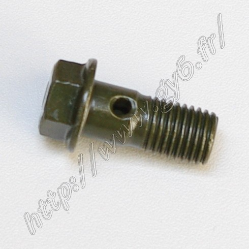 hollow , empty bolt banjo, for disk brake tube  M10x22