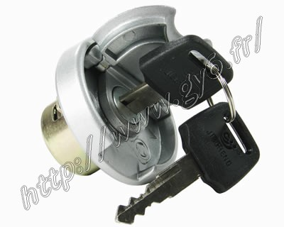 universal fuel tank cap with keys