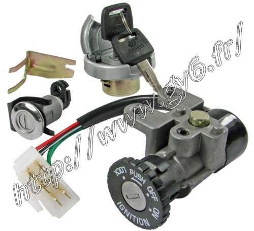 complet lock set, (saddle, gasoline, main switch.... ) type A