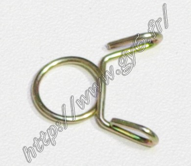 clip for gasoline hose, inner diameter   8mm, to use on 5mm hose universal