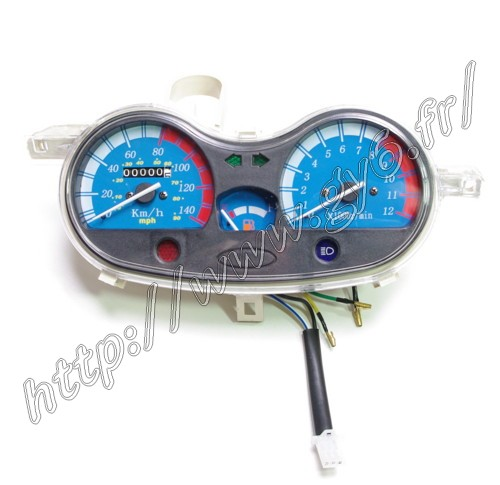 speedometer for eagle, jonway t12, kinroad, jmstar cj12m - 125cc