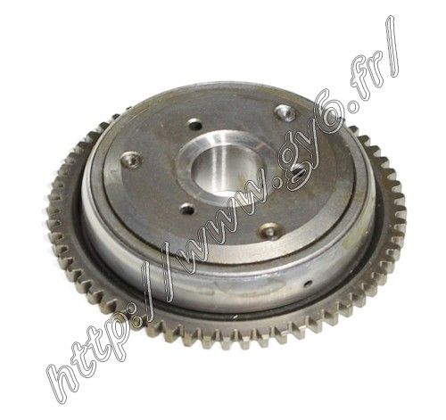 electric starter clutch (flywheel)  .