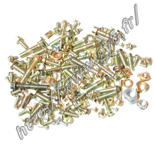 nuts bolts and screw for frame 125cc 150cc