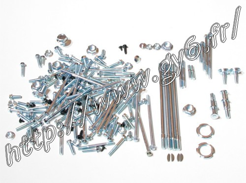 complet set of nuts, bolts, screws for 125cc 150cc 1.8kg